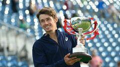 Де Минаур и Медведев стали победителями турниров ATP