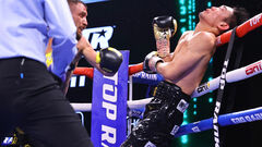 Одна из судей отдала Накатани два раунда в бою с Ломаченко