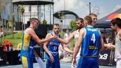 Украина выиграла второй матч в отборе на Евробаскет-3х3