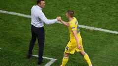 ДЕНИСОВ: «Миколенко играет крайне неудачно на Евро. Но ротации не будет»