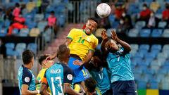 Кубок Америки. Бразилия и Эквадор сыграли вничью, Перу выиграл у Венесуэлы