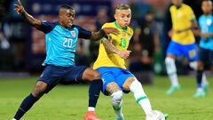 Бразилия – Эквадор – 1:1. Видео голов и обзор матча