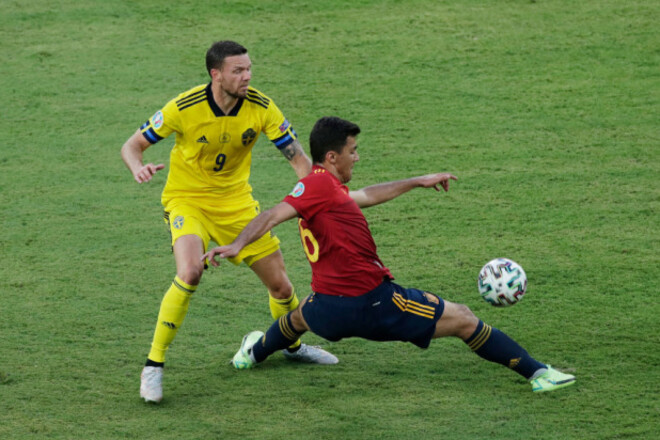Форвард сборной Швеции: «Для большинства мы - фавориты в игре с Украиной»