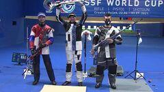 Українці взяли медалі на Кубку світу з кульової стрільби