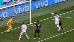 ВИДЕО. Аспиликуэта забил головой. Испания вышла вперед в игре с Хорватией