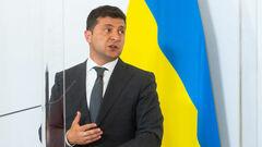 Зеленский дал напутствие сборной Украины перед матчем со Швецией