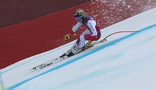 Горные лыжи. Третья подряд победа Гут-Бехрами в супергиганте