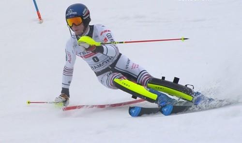 Горные лыжи. Ноэль выиграл слалом в Шамони