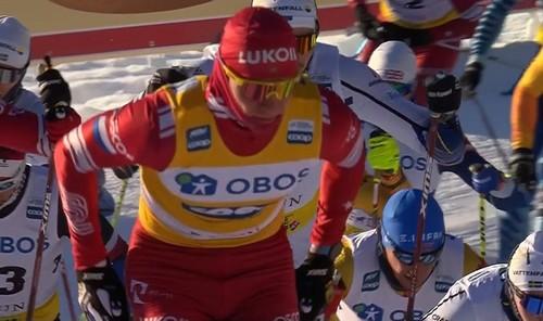 Лыжные гонки. Большунов сделал победный дубль в Фалуне