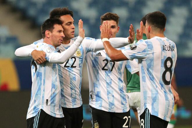 Уругвай - Колумбия. Онлайн-трансляция начнется в 01:00 ...