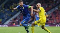 Будет два экстратайма. Матч Швеции и Украины перешел в дополнительное время