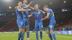 Оцінки Швеція – Україна. Відмінно зіграли Забарний, Зінченко і Матвієнко