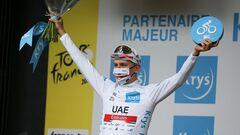 Тур де Франс. Погачар выиграл разделку, Ван дер Пул остался лидером