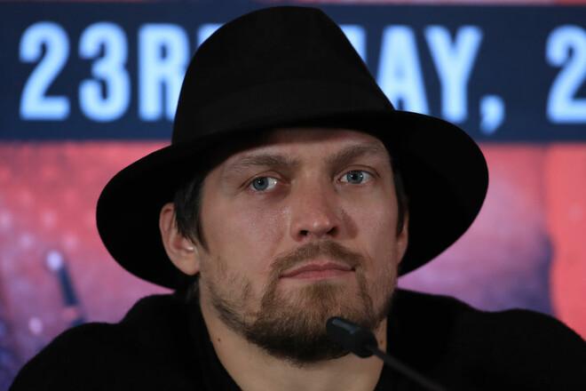 Усик потерял первое место в рейтинге WBA
