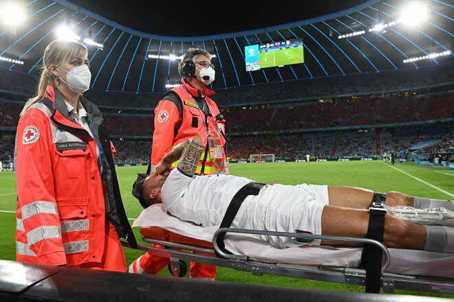 Рік без футболу. Стала відома тяжкість травми Спінаццоли