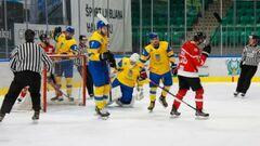Федерация хоккея Украины представила новый логотип