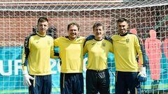 ФОТО. Вратари сборной Украины посетили Колизей