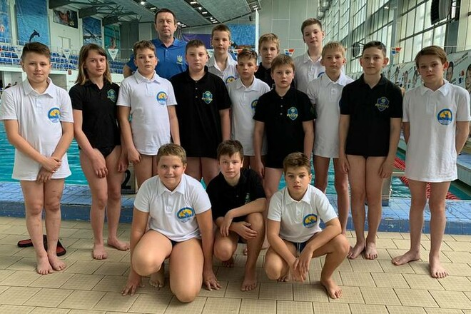 Сборная Харьковской области U-12 по водному поло выиграла чемпионат Украины