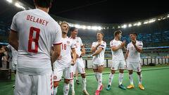Вперше з 1992 року. Данія встановила рекорд в історії Євро