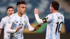 Аргентина – Эквадор. 1/4 финала Кубка Америки. Смотреть онлайн. LIVE