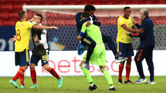 Кубок Америки. Колумбия одолела Уругвай в 1/4 финала