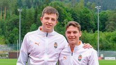 Трубин и Судаков из сборной присоединились к Шахтеру на сборах в Австрии
