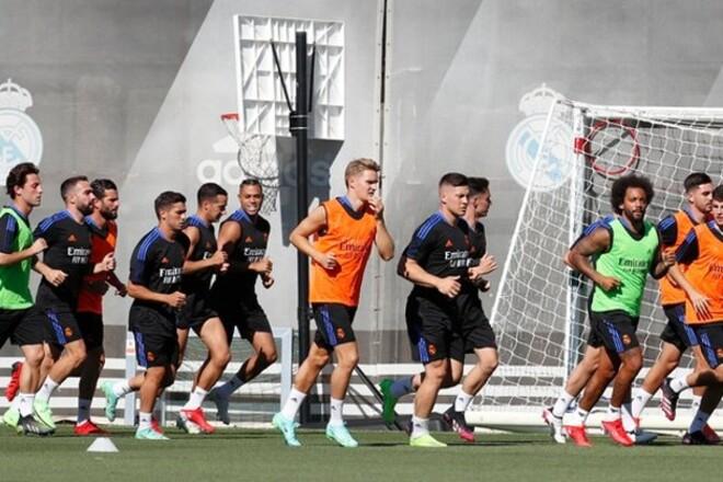 ФОТО. Реал вышел из отпуска, Лунин провел первую тренировку при Анчелотти
