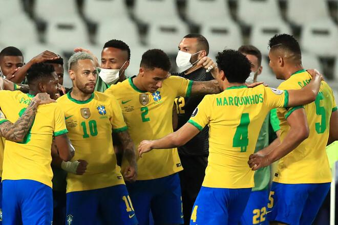 Хватило одного гола. Бразилия обыграла Перу и вышла в финал Кубка Америки