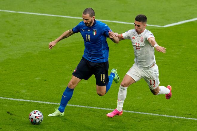 Италия – Испания – 1:1 (пен. 4:2). Есть финалист! Видео голов и обзор матча
