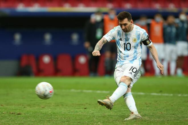 Мессі на рівні. Аргентина перемогла Колумбію та вийшла у фінал на Бразилію