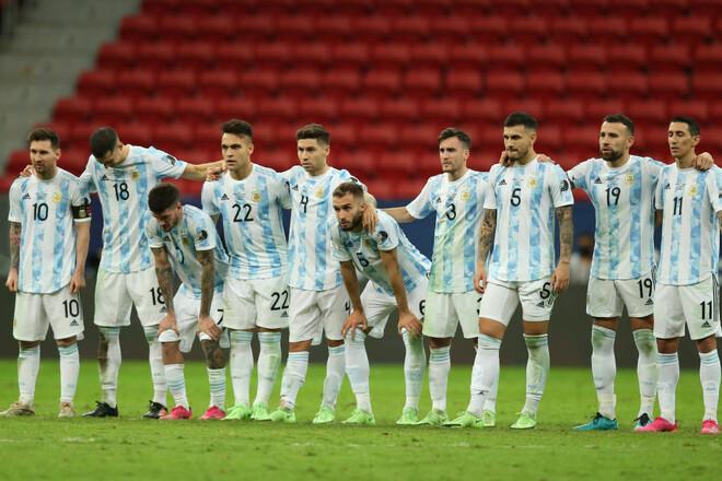 Аргентина не програє 19 матчів поспіль, це другий результат в історії