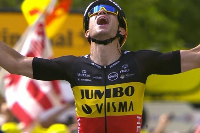 Тур де Франс. Ван Арт выиграл горный этап