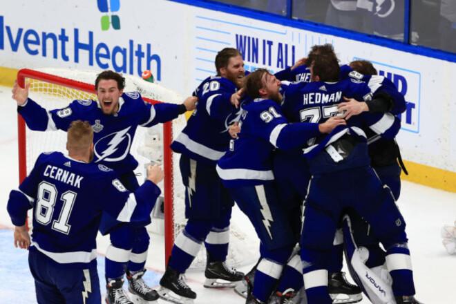 Тампа-Бэй выиграла Кубок Стэнли. Команда снова лучшая в НХЛ
