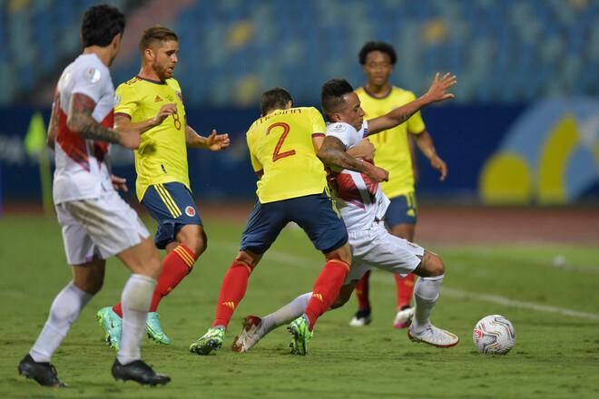 Колумбия – Перу. Прогноз и анонс на матч Кубка Америки