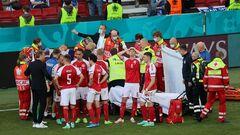 УЄФА запросила Еріксена і лікарів, які його врятували, на фінал Євро-2020