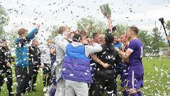 Клуб ЛНЗ Черкассы выиграл аматорские чемпионат и кубок Украины