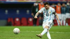 Месси на уровне. Аргентина победила Колумбию и вышла в финал на Бразилию