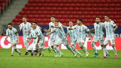 Аргентина — Колумбия — 1:1 (3:2 пен.). Видео голов и обзор матча