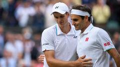 Федерер– out. Известны все полуфиналисты на Уимблдоне