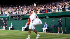 «Баранка» на прощание. Федерер вылетел из Уимблдона