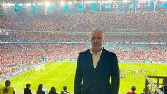 ФОТО. Ярославський відвідав півфінал Євро-2020 Англія — Данія