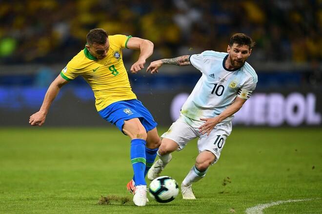 Аргентина – Бразилия. Прогноз и анонс на финал Кубка Америки