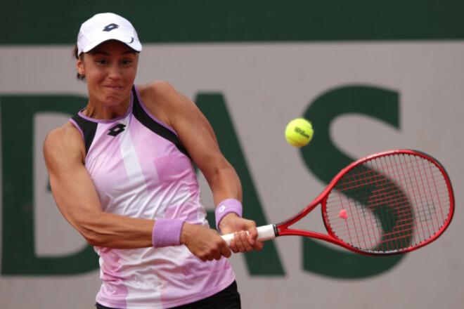 Калинина пробилась в четвертьфинал турнира во Франции