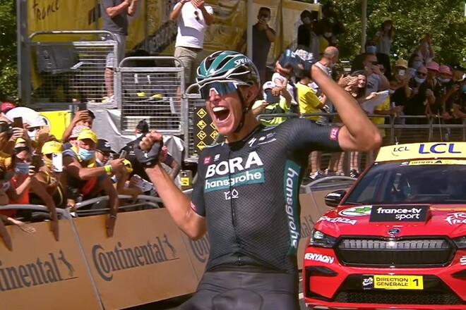 Тур де Франс. Сольная победа Политта из отрыва