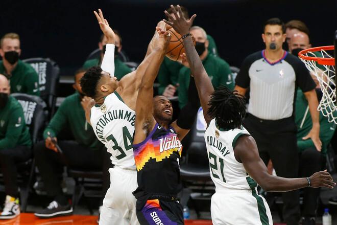 Финикс Санс – Милуоки Бакс. Прогноз и анонс на финал НБА