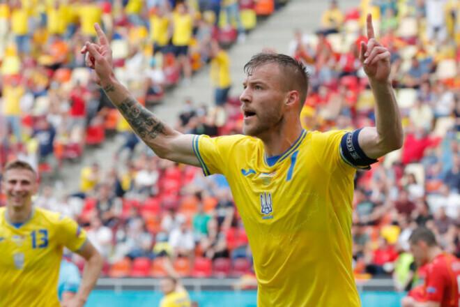 Ярмоленко став найкращим гравцем збірної України на Євро за версією InStat