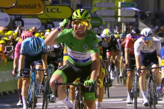 Кэвендиш повторил рекорд Меркса по количеству побед на Тур де Франс