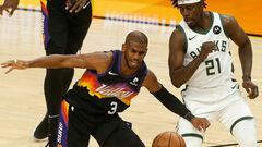 НБА. 42 очки Янніса не врятували Мілуокі, Фінікс подвоїв перевагу в серії