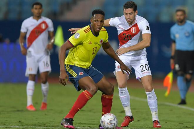 Колумбия – Перу. Матч за 3-е место Кубка Америки. Смотреть онлайн. LIVE
