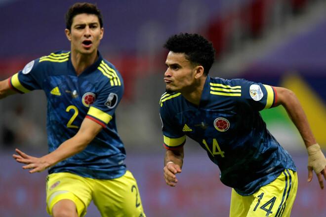 Колумбия – Перу – 3:2. Победный гол в девятку. Видео голов и обзор матча